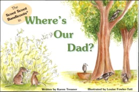 bandicoot book Where's Our Dad