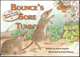 bandicoot book Bounce's sore tummy